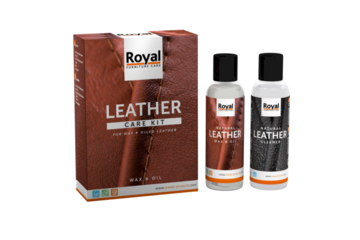 Royal Leather Care Kit Wax & Oil