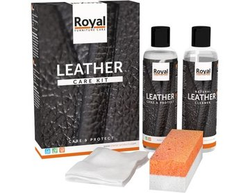Royal Furniture Leather Care Kit 2x 75ml