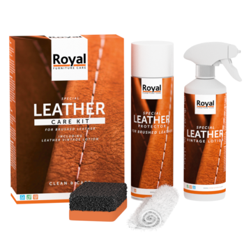 Royal Furniture Leather SPECIAL Care Kit