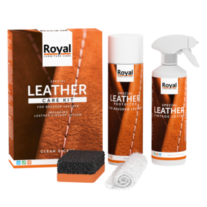 Royal Furniture Care Leather Care Kit Brushed Leather