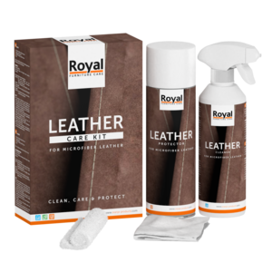 Royal furniture microleder onderhouds set